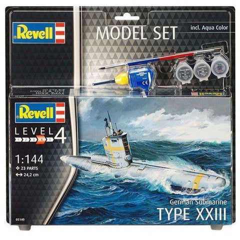 REVELL 1/144 German Submarine Model Set