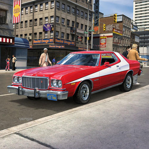 Image of REVELL 1/25 '76 Ford Torino Plastic Model Kit