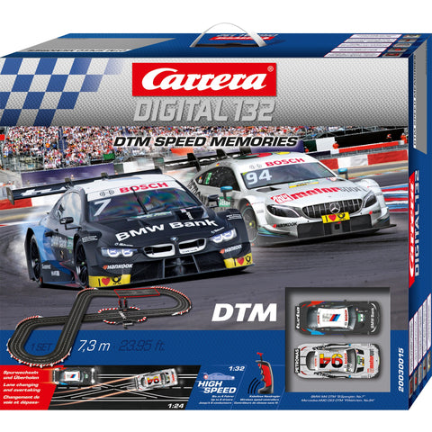 CARRERA Digital 132 DTM Speed Memories Wireless Slot Car Se