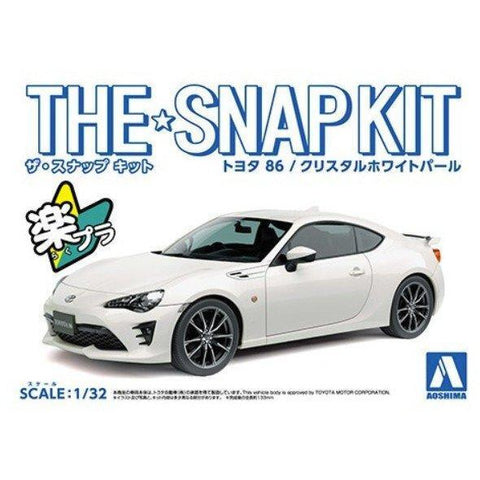 1/32 Toyota 86 (Crystal White Pearl)
