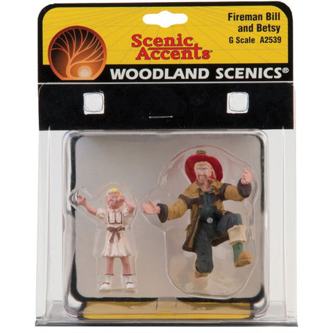 Image of WOODLAND SCENICS G Fireman Bill And Betsy