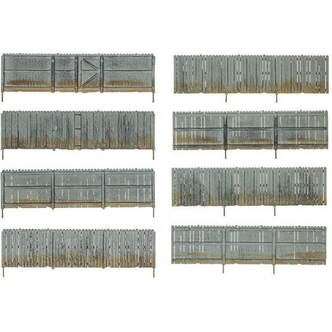 WOODLAND SCENICS HO Privacy Fence
