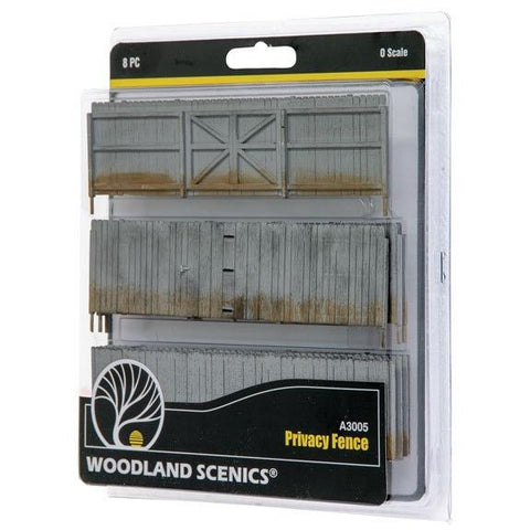 WOODLAND SCENICS O Privacy Fence