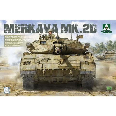 TAKOM 2133 1/35 Merkava MK.2D Plastic Model Kit
