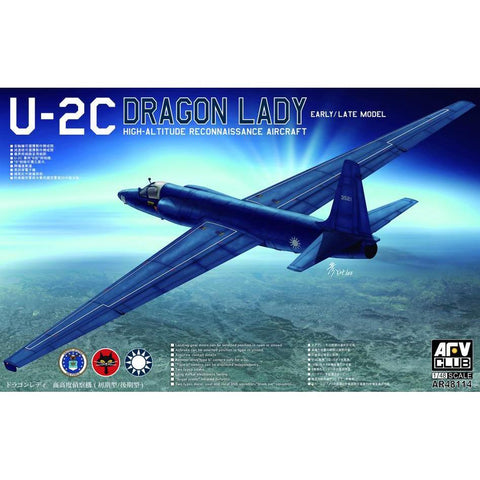 AFV Club AR48114 1/48 Lockheed U-2C Plastic Model Kit