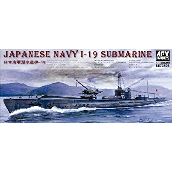 AFV CLUB 1/350 JAPANESE NAVY I-19 SUBMARINE (AFV-SE73506)
