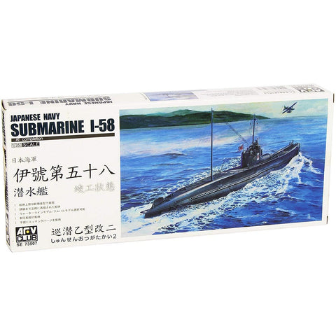AFV CLUB SE73507 1/350 Japanese Navy Submarine I-58 Plastic