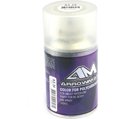 ARROWMAX AM 100ml Paintsprays, AS36 Translucent Silver(AM-2
