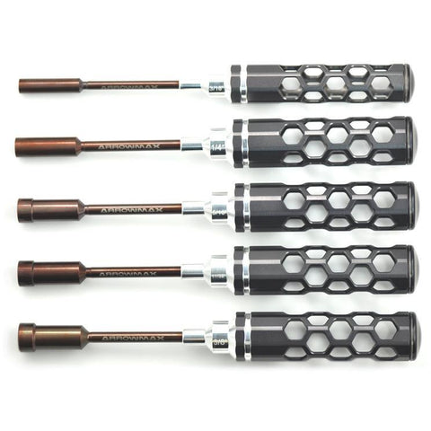 "ARROWMAX Nut Driver Set 3/16"", 1/4"" ,5/16"", 11/32"" & 3/8"" X"
