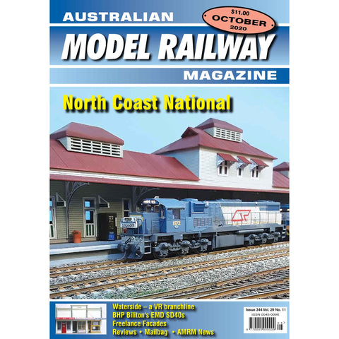 AMRM Australian Model Railway Magazine OCT 2020 Issue #344