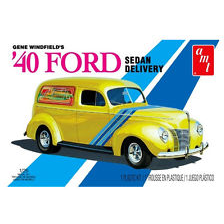 AMT 1:25 Three Stooges 1940 Ford Sedan Delivery Plastic Kit