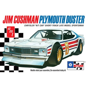 AMT 1:25 Jim Cushman Plymouth Duster Plastic Kit Drag