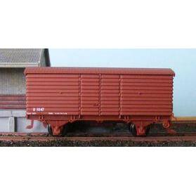 AUST-N-RAIL N - VR U Van Un-Numbered with Microtrains Couplers