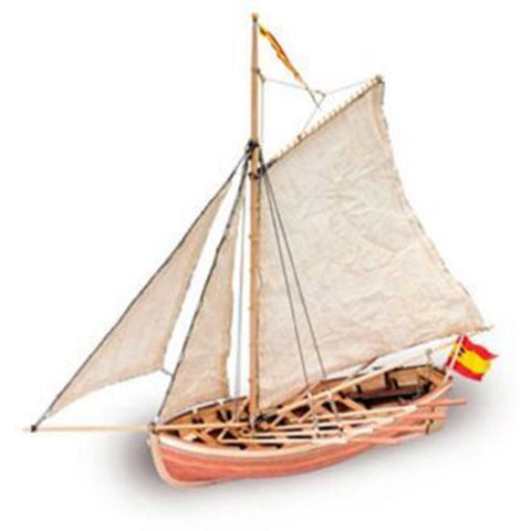 ARTESANIA 1/25 San Juan Nepomuceno's Jollyboat Wooden Ship Model (ART-18010)