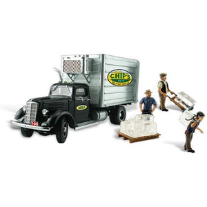 WOODLAND SCENICS HO Scale Chip's Ice Truck