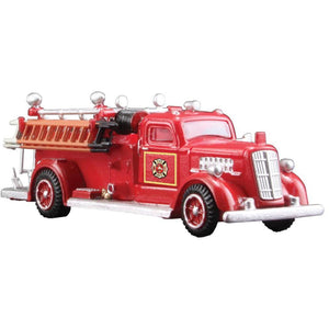 WOODLAND SCENICS HO Scale Fire Truck