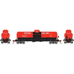 ATHEARN HO RTR 1-Dome Tank, Crystal/Red