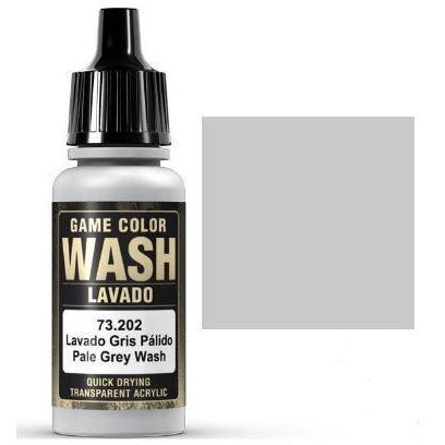 VALLEJO Pale Grey Wash 17ml