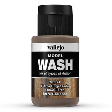 VALLEJO Model Wash Oiled Earth 35ml