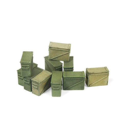 Vallejo SC221 Large Ammo Boxes 12.7mm Diorama Accessory