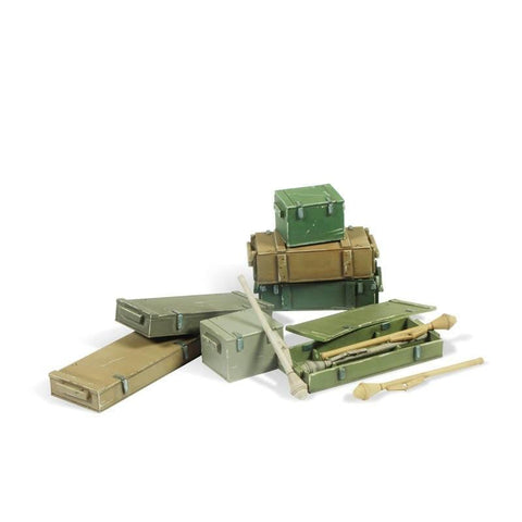 Vallejo SC222 Panzerfaust 60 M set Diorama Accessory