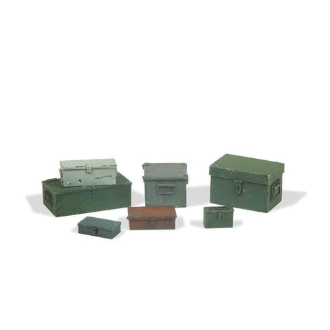 Vallejo SC223 Universal Metal Cases Diorama Accessory