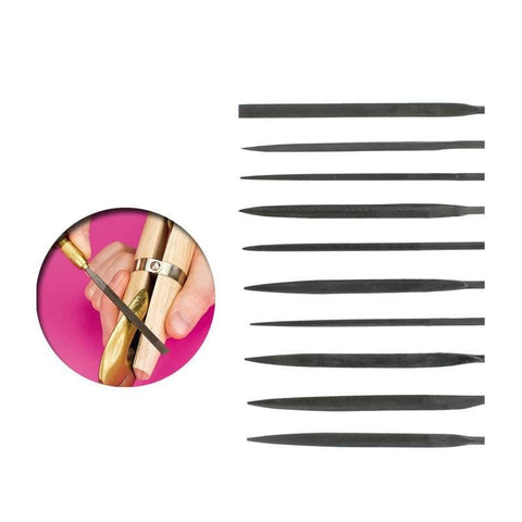 VALLEJO Needle File Set - 10 Piece