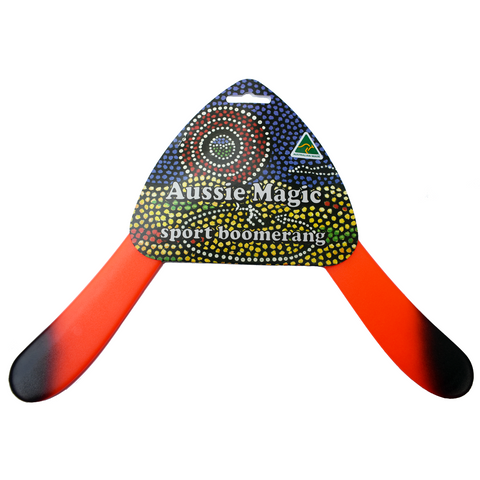 FLYING TOYZ Aussie Magic Sport Boomerang