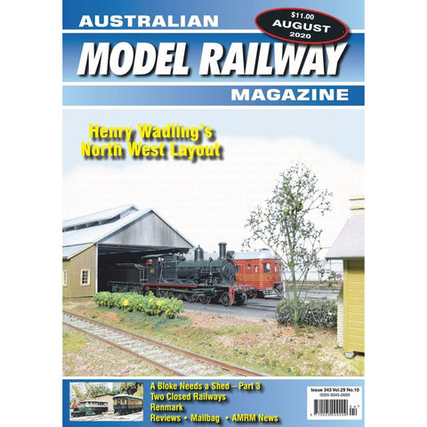 AMRM Australian Model Railway Magazine AUG 2020 Issue #343