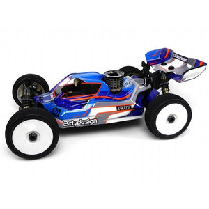 BITTYDESIGN FORCE clear 1/8 buggy body Tekno RC NB48.3 (BDF