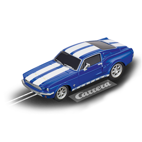 CARRERA GO!!! Ford Mustang '67 Racing Blue