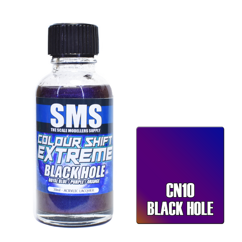 SMS COLOUR SHIFT EXTREME BLACK HOLE (ROYAL BLUE/PURPLE/ORANGE) 30ML (CN10)