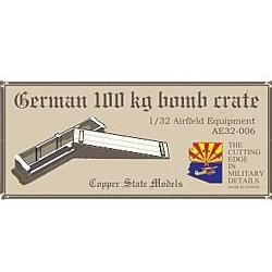 COPPER STATE MODELS 1/32 German 100kg bomb crate (CSM-AE32-