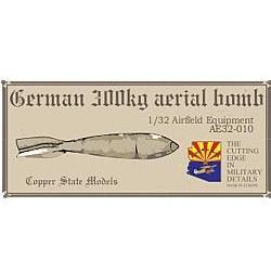 COPPER STATE MODELS 1/32 German 300kg aerial bombs (CSM-AE3