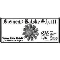 COPPER STATE MODELS 1/32 Siemens-Halske AS.III 160 H.P. (CS