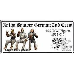 COPPER STATE MODELS 1/32 Gotha bomber german 2nd crew (CSM-