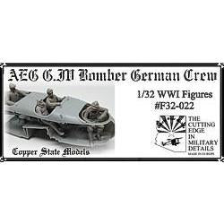 COPPER STATE MODELS 1/32 AEG G.IV bomber german crew (CSM-F