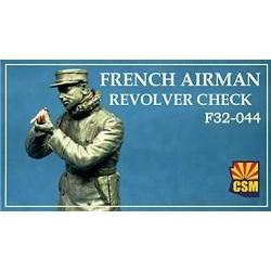 COPPER STATE MODELS 1/32 French airman checking revolver (C