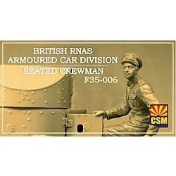 COPPER STATE MODELS 1/35 British RNAS Armoured Car Division