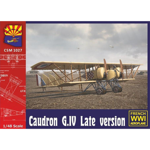 COPPER STATE MODELS 1/48 Caudron G. IV Late Version