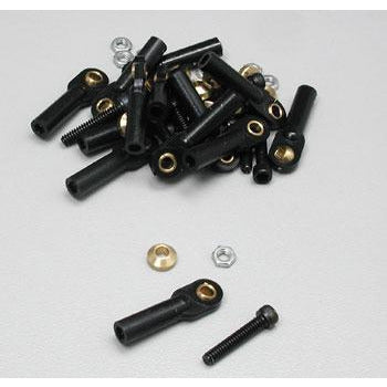 Image of DUBRO 861 4-40 SWIVEL BALL LINKS (12 PCS PER PACK)