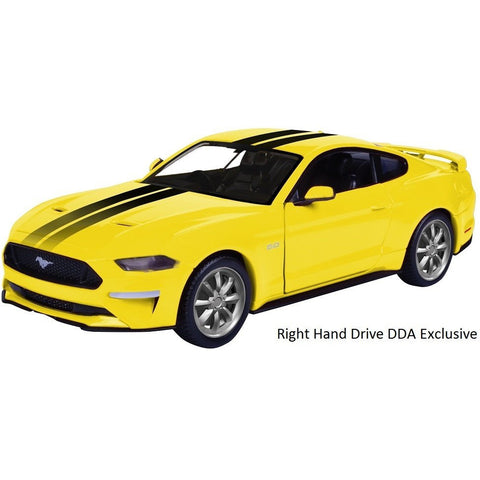 DDA 1/24 2018 Ford Mustang GT Yellow