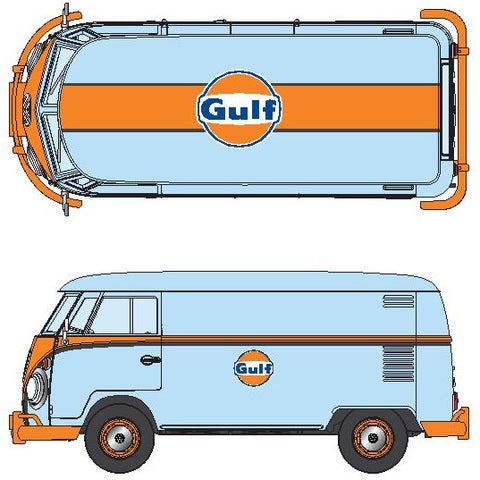 DDA 1/24 Gulf VW Type 2 Delivery Van