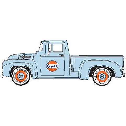 DDA 1/24 Gulf 1955 Ford F-100 Pickup