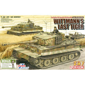 DRAGON 1/35 Wittmann's Last Tiger Plastic Model Kit