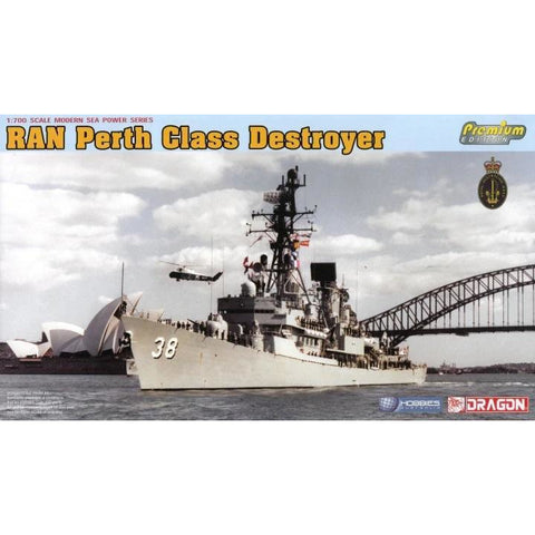 DRAGON 1/700 RAN HMAS Perth D-38 Plastic Model Kit