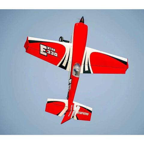 "FMS Extra 330 2000mm (78.7"") Red/White PNP"