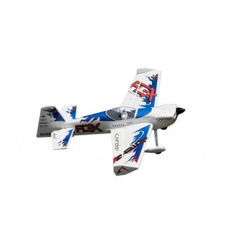 Flex Innovation QQ Cap 232 EX Super RC Plane, PNP, Blue