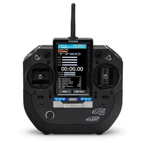 Image of Futaba 7XC 2.4Ghz 7-Channel Stick Type Transmitter w/ R334S