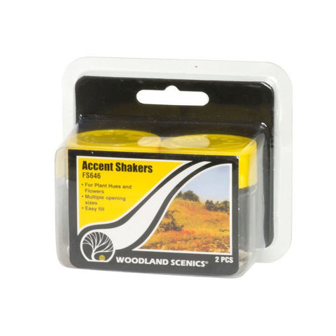 WOODLAND SCENICS Accent Shakers  - For Static Grass